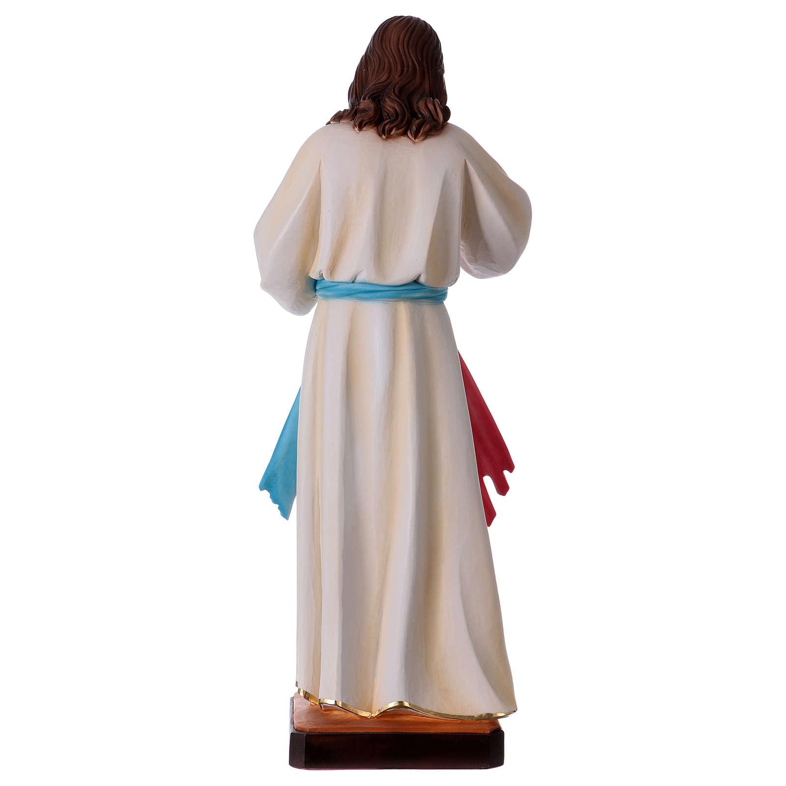 Gesù Misericordioso resina 60 cm 4