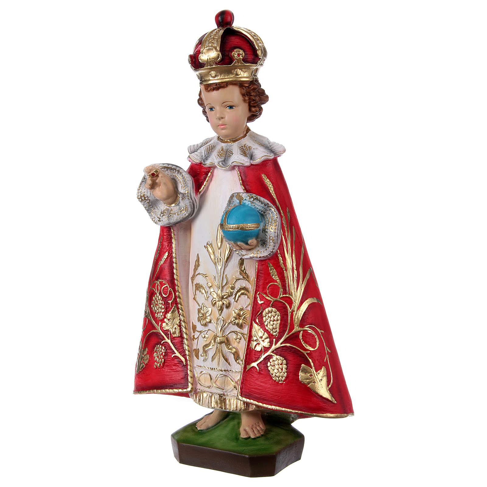 Menino Jesus de Praga resina 60 cm 4