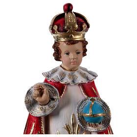 Menino Jesus de Praga resina 60 cm s2