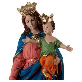 Our Lady of Help 60 cm in resin s2