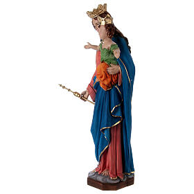 Our Lady of Help 60 cm in resin s3