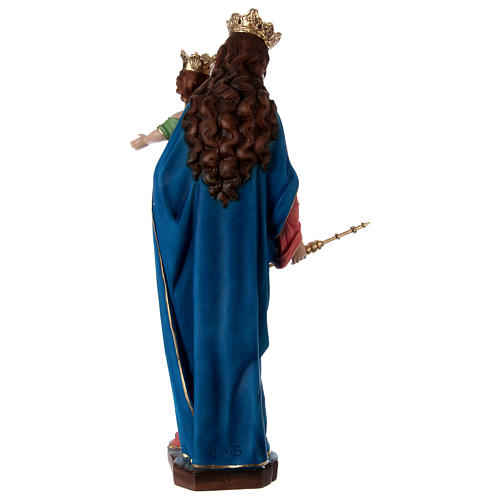 Our Lady of Help 60 cm in resin 5