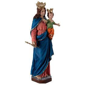 Matka Boża Wspomożycielka 60 cm żywica s4