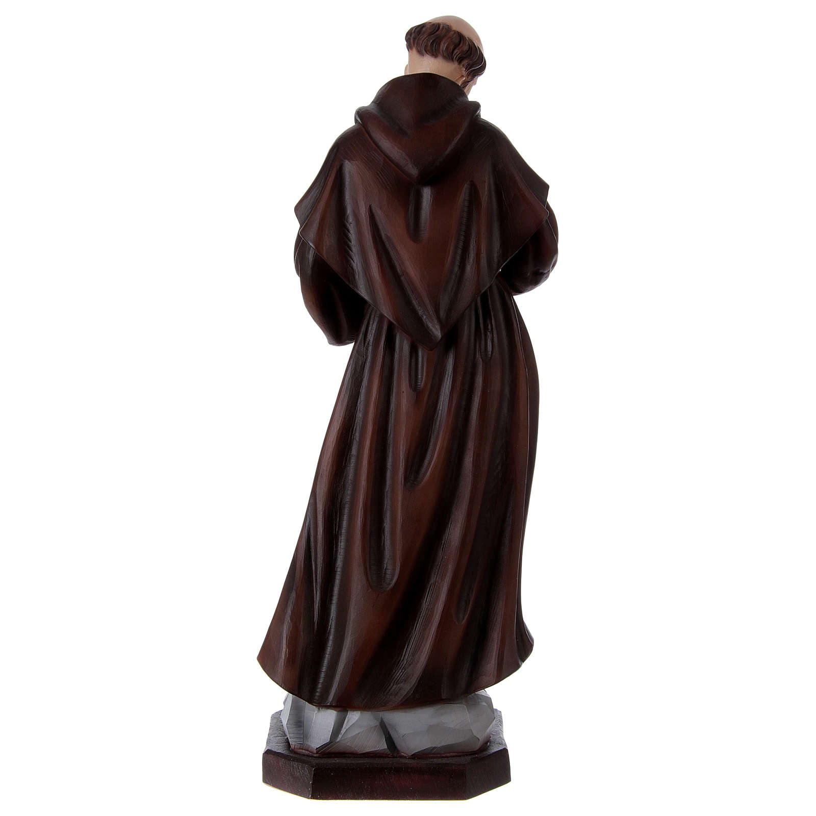 St Francis 60 cm in painted resin 4
