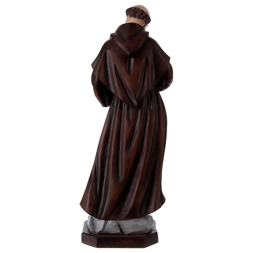 St Francis 60 cm in painted resin 5