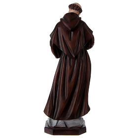 Saint François 60 cm en résine peinte s5