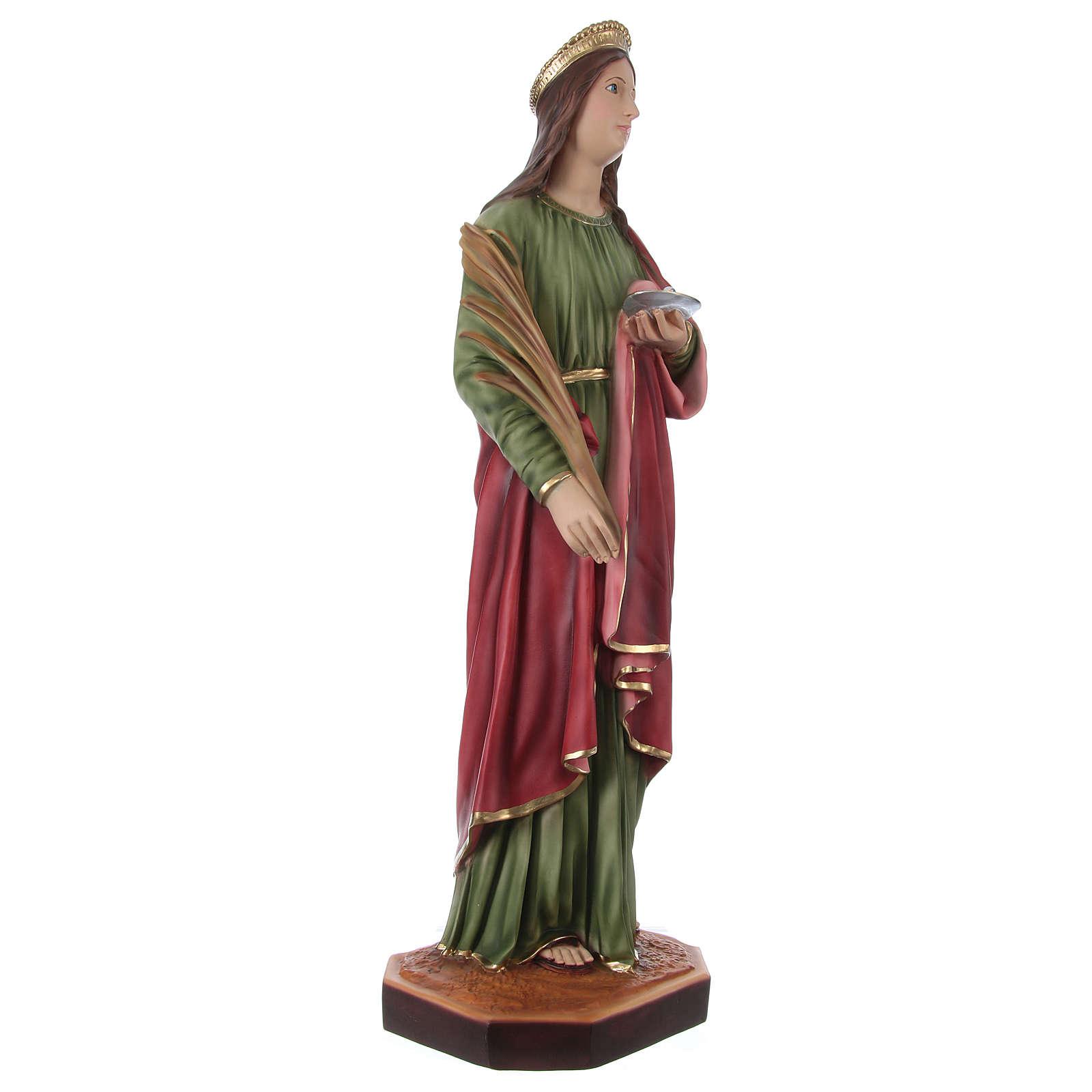 Statua in resina Santa Lucia 90 cm 4