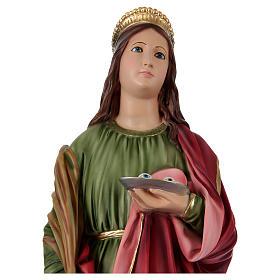 Statua in resina Santa Lucia 90 cm s2