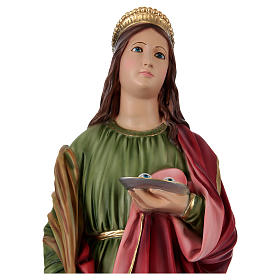 Resin Statue of St. Lucia 90 cm s2