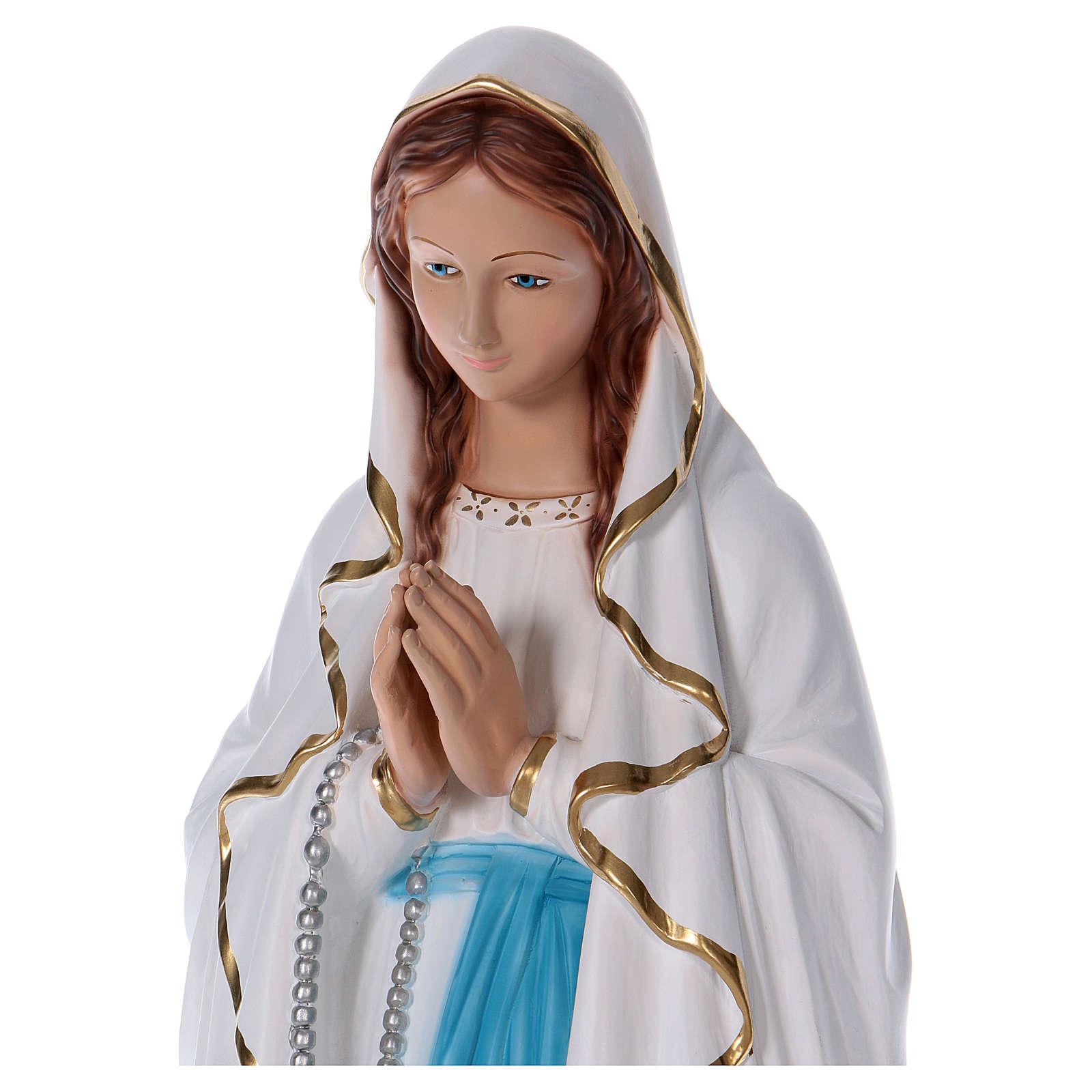 Estatua Virgen de Lourdes 90 cm resina 4