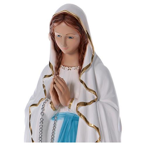 Estatua Virgen de Lourdes 90 cm resina 2