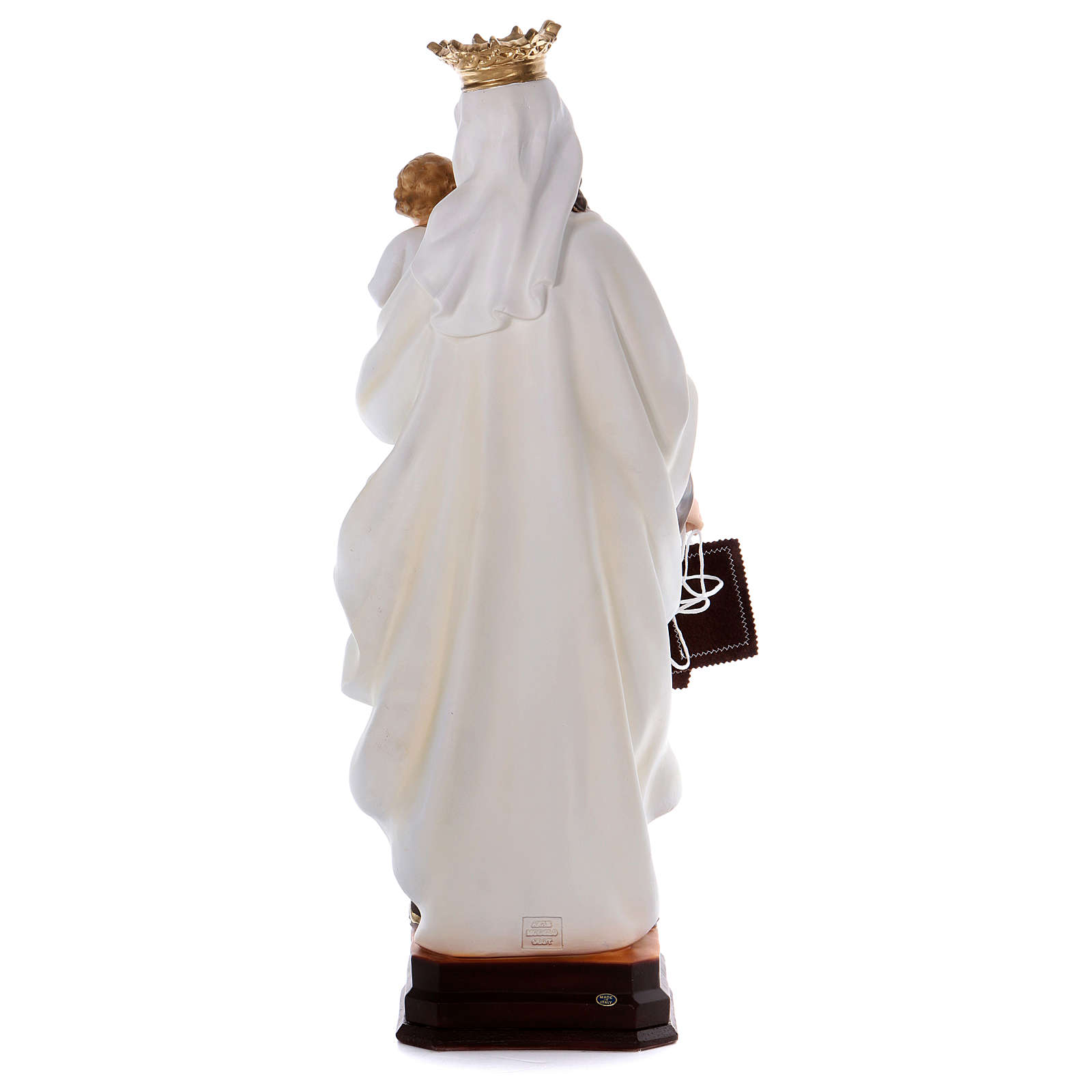 Our Lady of Mount Carmel statue in resin 70 cm 4
