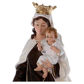 Our Lady of Mount Carmel statue in resin 70 cm s2