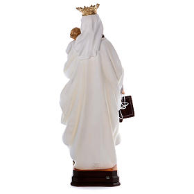 Our Lady of Mount Carmel statue in resin 70 cm s5