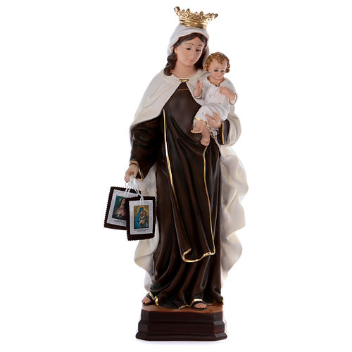 Our Lady of Mount Carmel statue in resin 70 cm 1