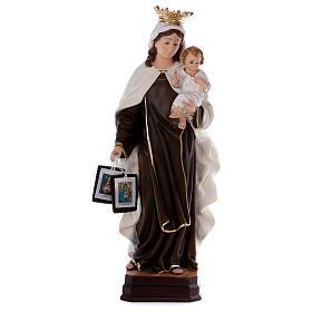 Estatua de resina Virgen del Carmen 70 cm s1