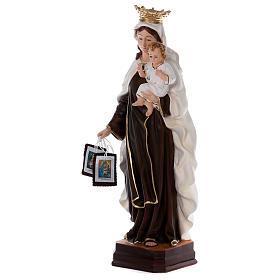 Estatua de resina Virgen del Carmen 70 cm s3