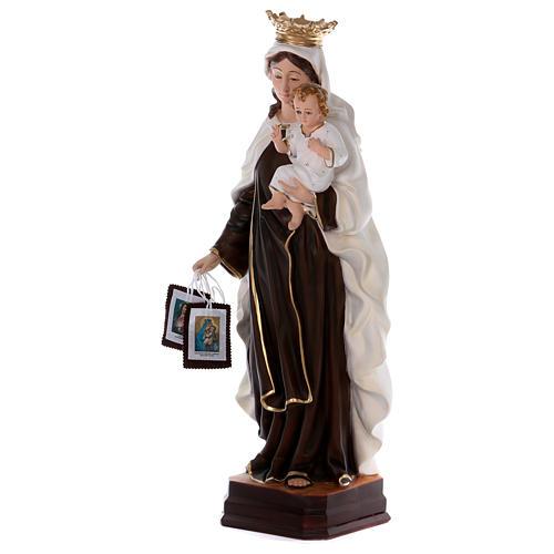 Estatua de resina Virgen del Carmen 70 cm 3