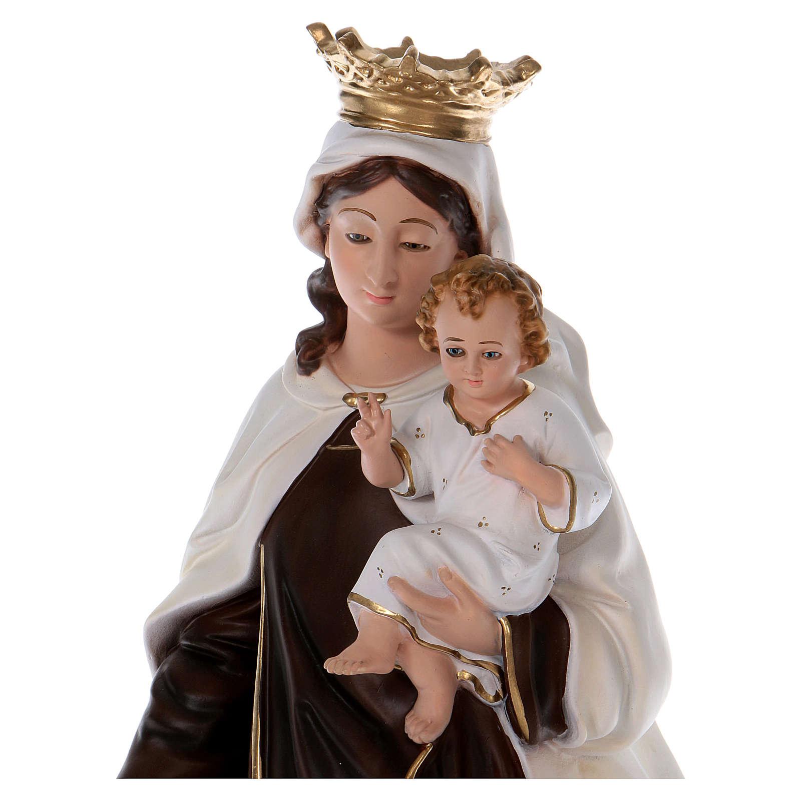 Statua in resina Madonna del Carmelo 70 cm 4