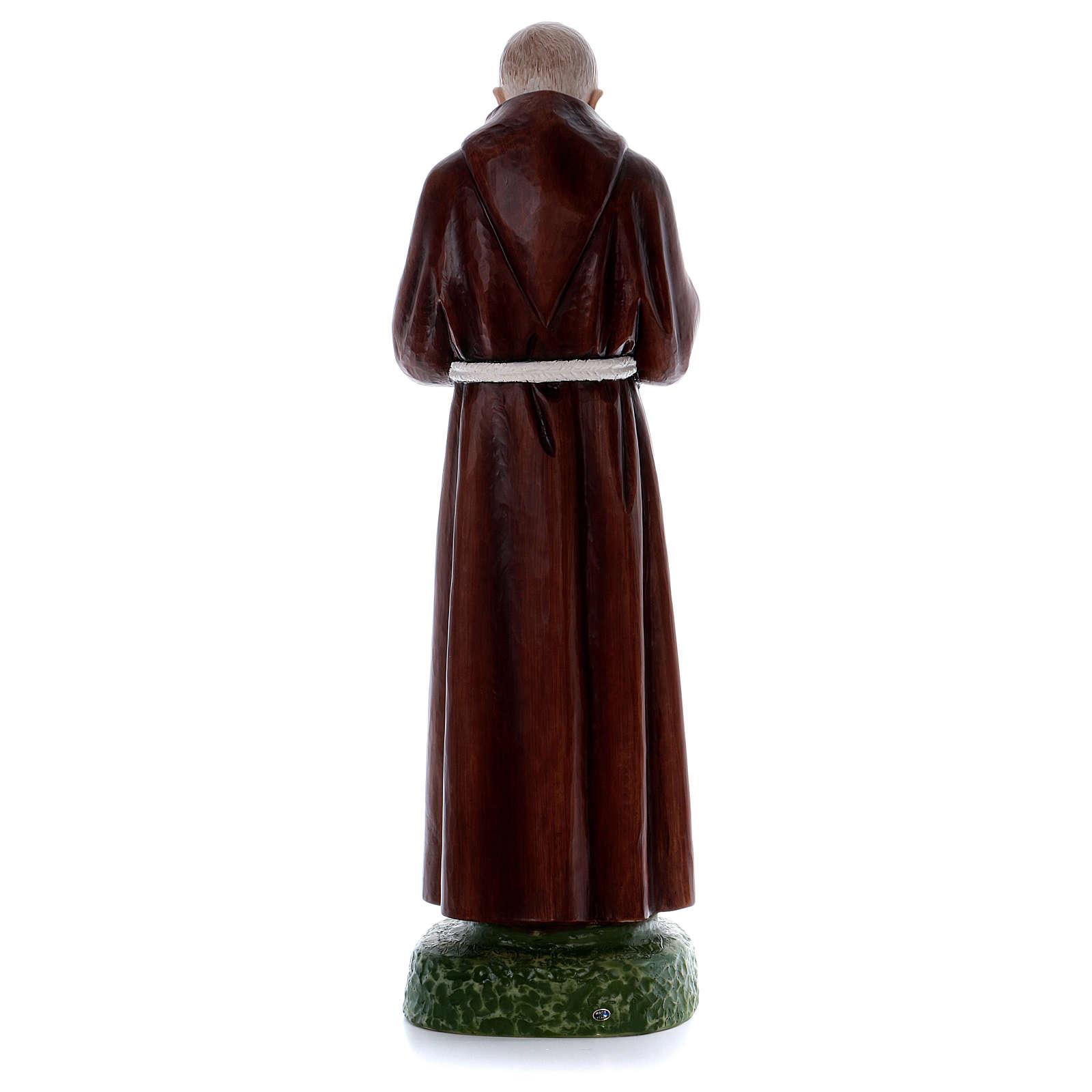 Padre Pio statue in resin 80 cm 4