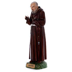 Padre Pio statue in resin 80 cm s3