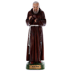 Padre Pío 80 cm de resina s1
