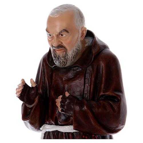 Padre Pío 80 cm de resina 2