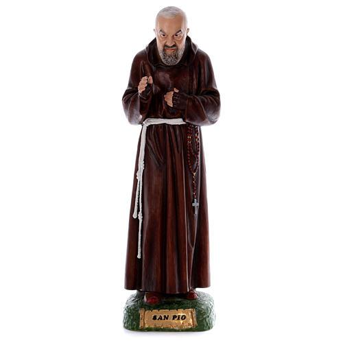 Padre Pio 80 cm en résine 1
