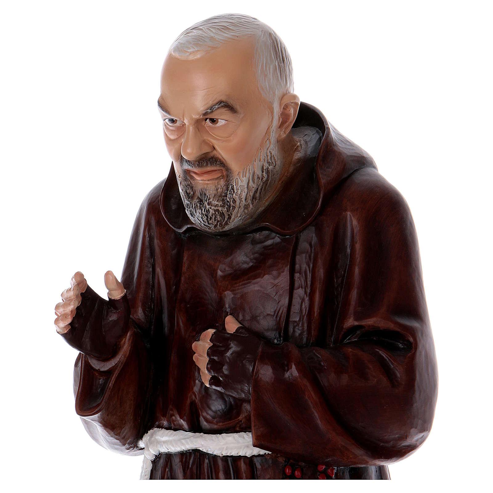 Father Pio 80 cm Statue, in resin 4