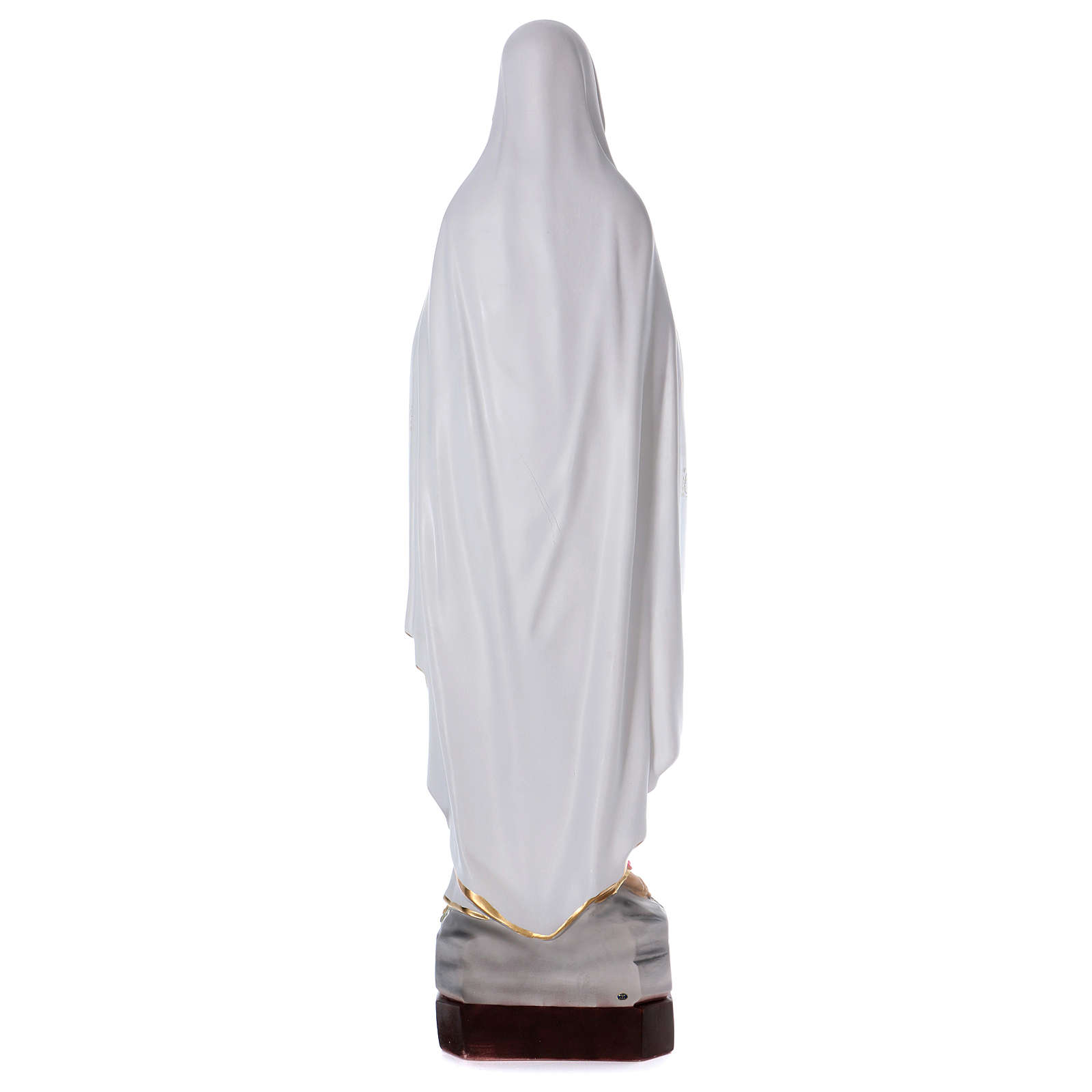 Our Lady of Lourdes statue in resin 130 cm 4