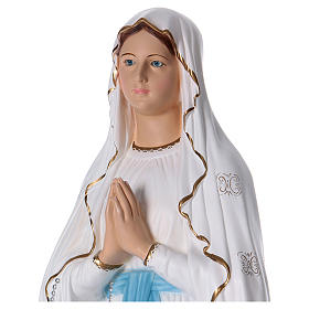 Our Lady of Lourdes statue in resin 130 cm s2