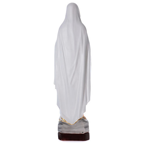 Our Lady of Lourdes statue in resin 130 cm 5