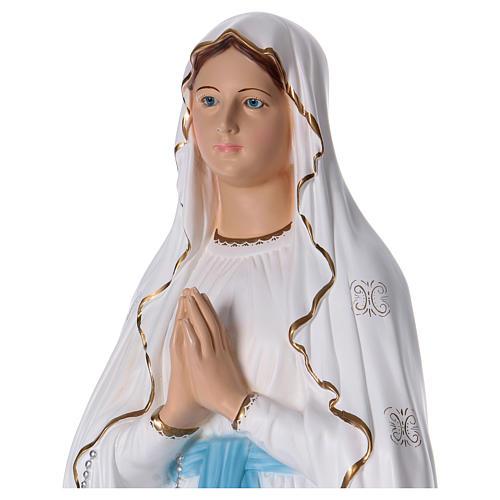 Virgen de Lourdes 130 cm resina 2