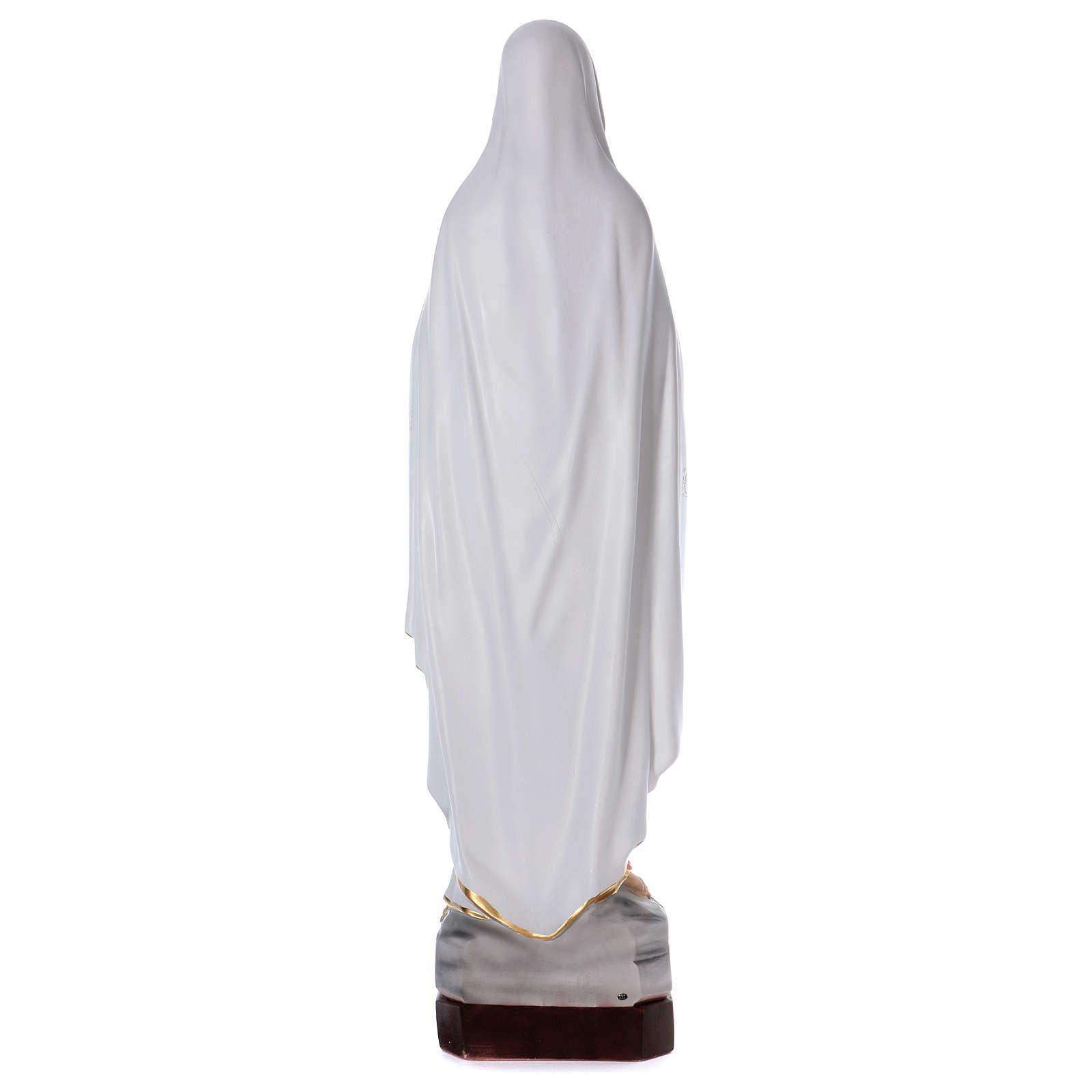 Notre-Dame de Lourdes 130 cm résine 4