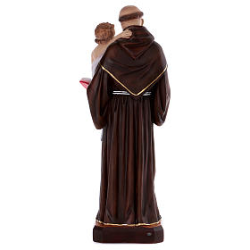 Saint Anthony statue in resin 80 cm s5