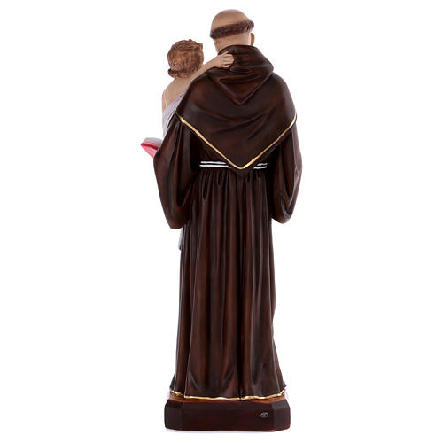 Saint Anthony statue in resin 80 cm 5
