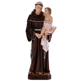 Estatua San Antonio 80 cm de resina s1