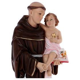 Statue Saint Antoine 80 cm en résine s2