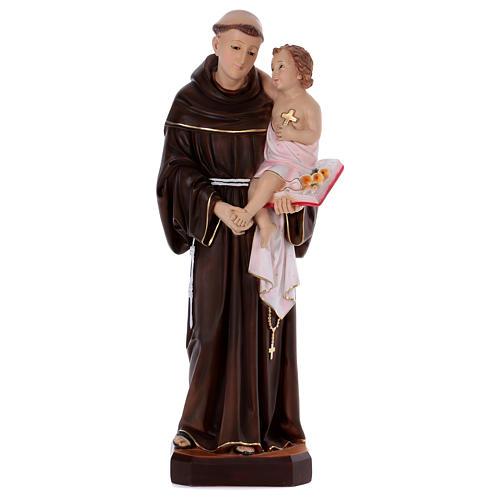 Statue Saint Antoine 80 cm en résine 1