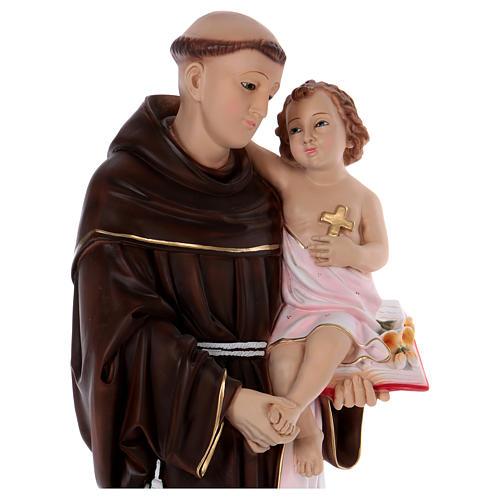 Statue Saint Antoine 80 cm en résine 2