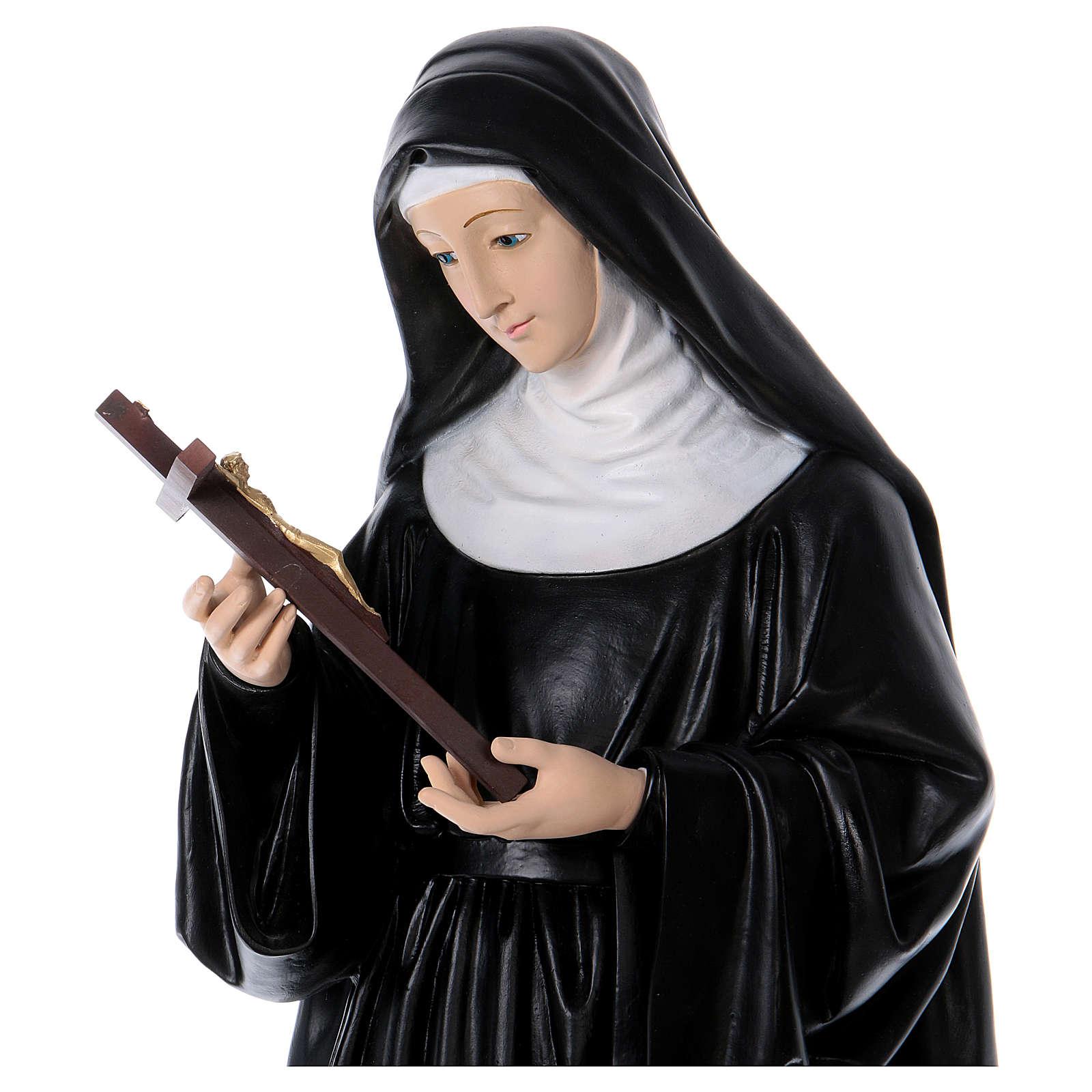 Saint Rita Resin Statue, 80 cm 4