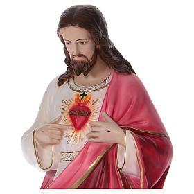Sacred Heart of Jesus Resin Statue, 100 cm s2