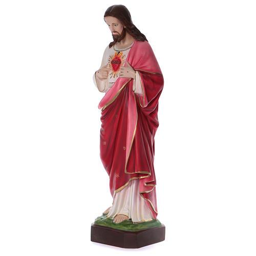 Sacred Heart of Jesus Resin Statue, 100 cm 3