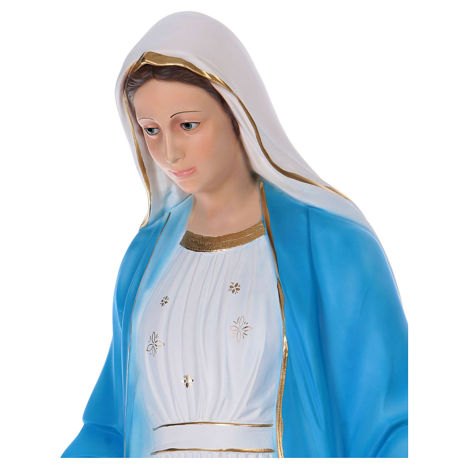 Virgen Milagrosa 120 cm estatua de resina 4