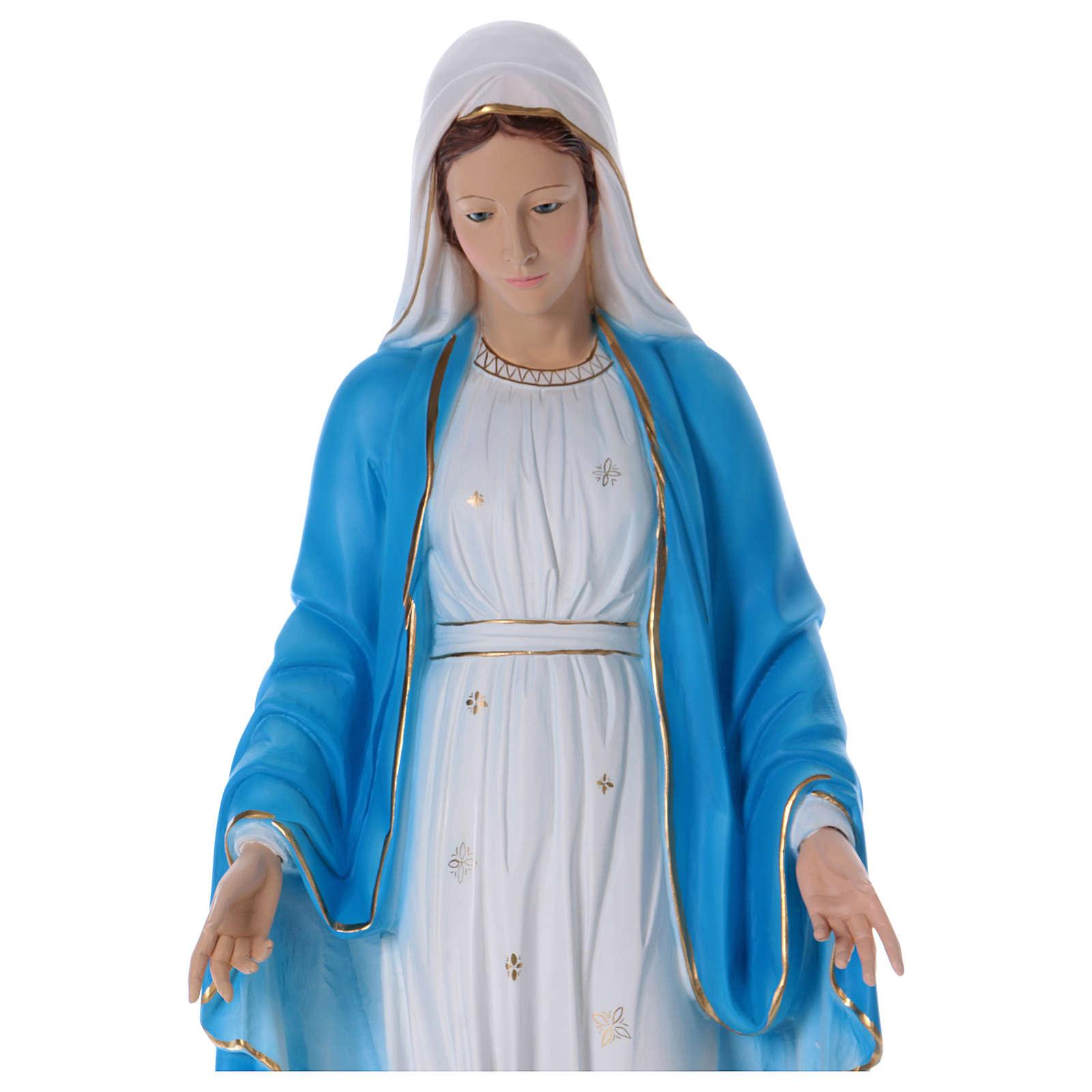 Estatua Virgen Milagrosa 100 cm resina 4