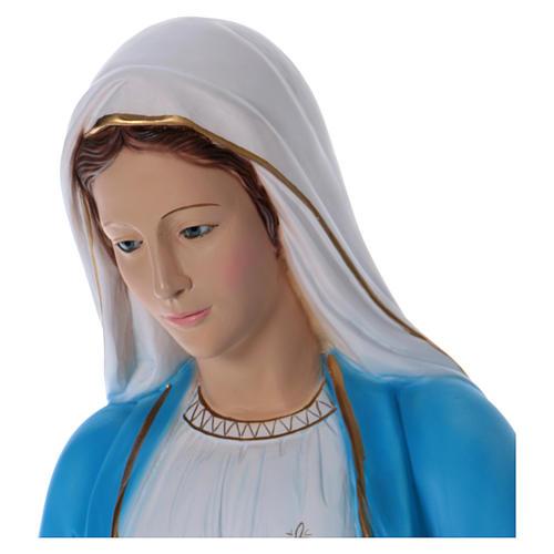 Statue Vierge Miraculeuse 100 cm résine 2