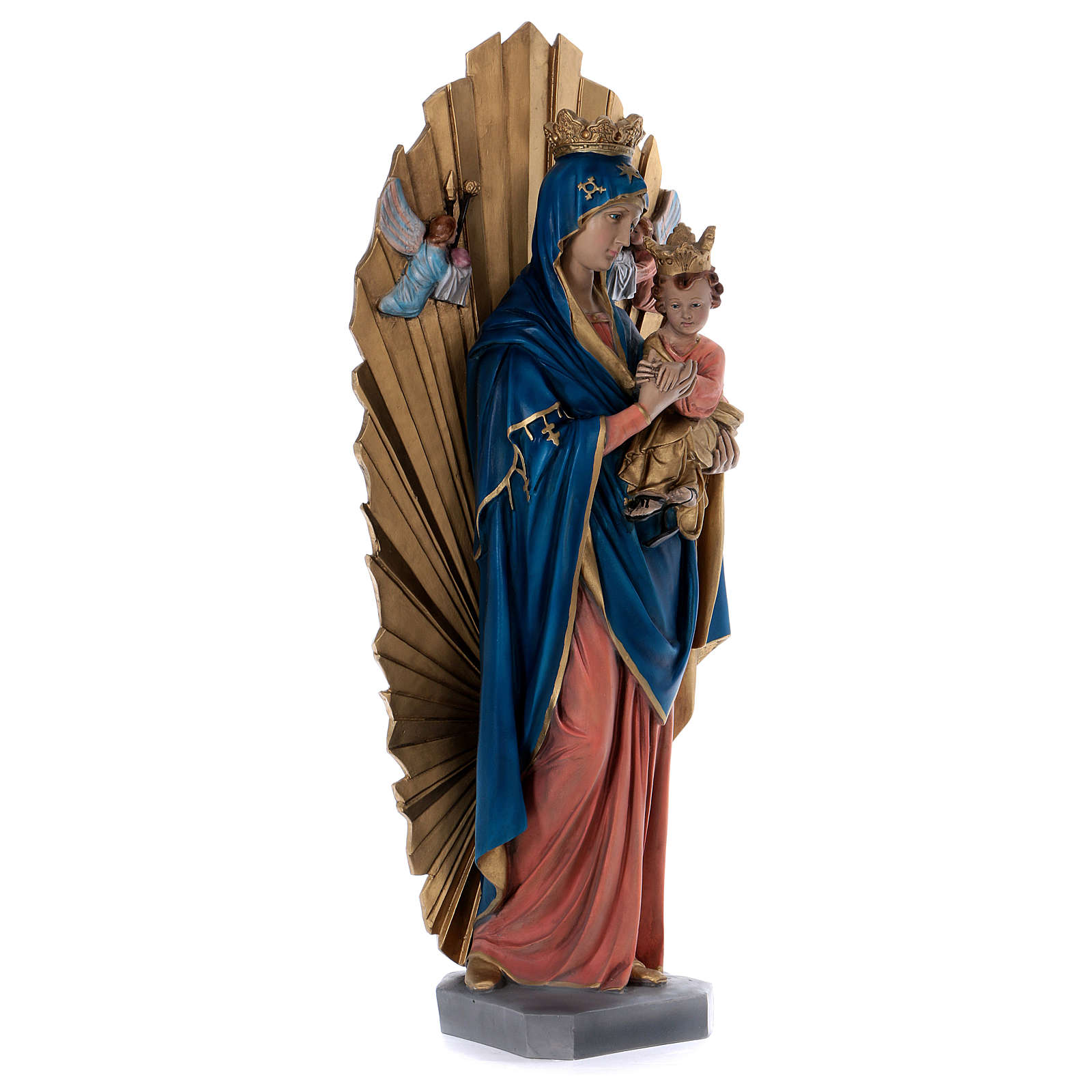 Our Lady of Perpetual Help statue in resin 70 cm 4