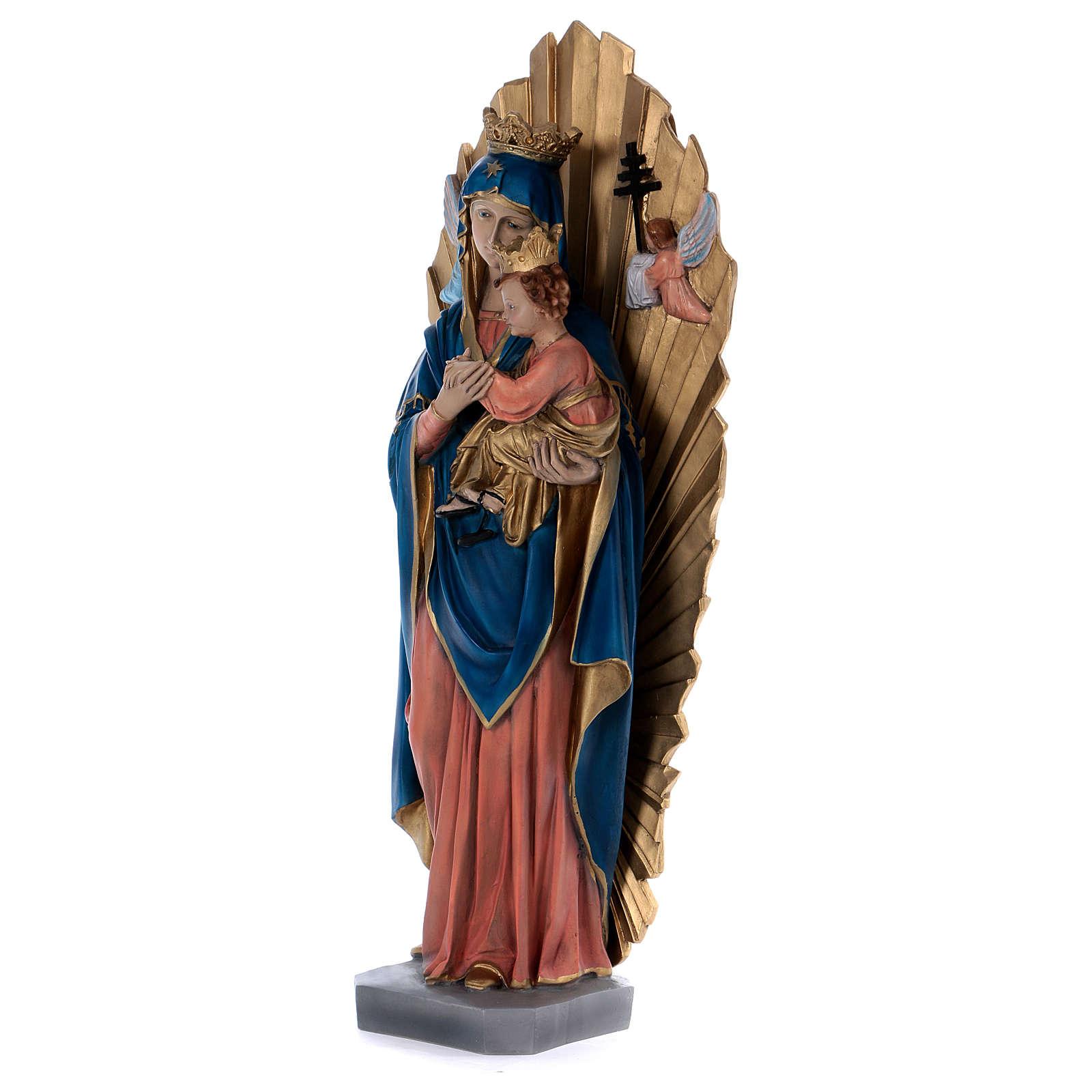 Estatua de resina Perpetuo Socorro 70 cm 4