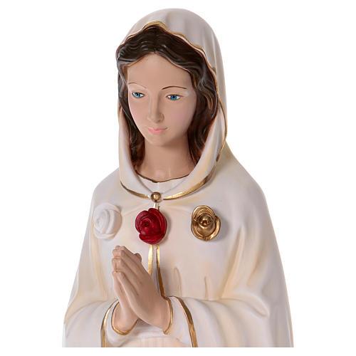 Statua in resina Rosa Mistica 100 cm  2