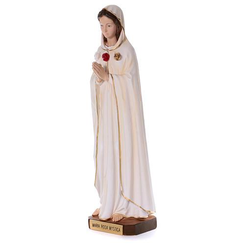 Statua in resina Rosa Mistica 100 cm  3